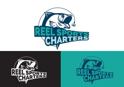 #14 for Design a Logo for Reel Sport Charters af farooqshahjee