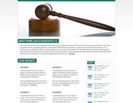 #2 for Create a Wordpress Template for a lawfirm af dhudsons
