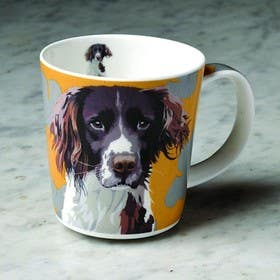#8 untuk Coffee mug with a picture of my dog oleh angela2015