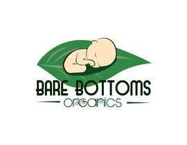 """#30 para Design a Logo for organic baby company """"Bare Bottoms Organics"""". por andreealorena89"""