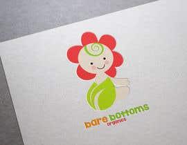 "#24 untuk Design a Logo for organic baby company ""Bare Bottoms Organics"". oleh shantallrueda"