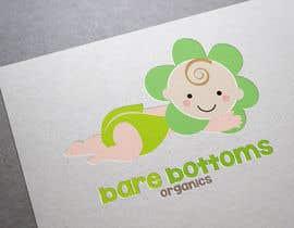 "#28 untuk Design a Logo for organic baby company ""Bare Bottoms Organics"". oleh shantallrueda"