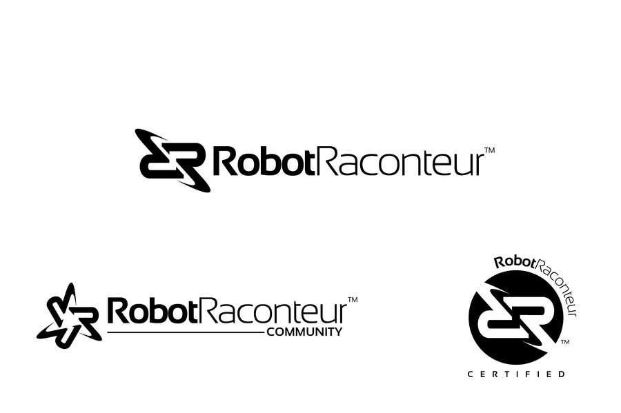Inscrição nº 7 do Concurso para Design 3 Logos for Robot Raconteur