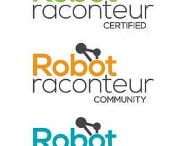 #9 for Design 3 Logos for Robot Raconteur by dominiqueharvey