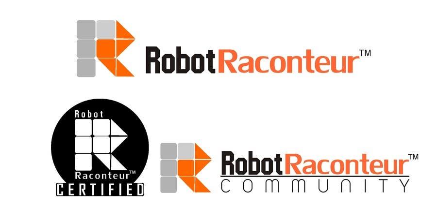 Inscrição nº 19 do Concurso para Design 3 Logos for Robot Raconteur