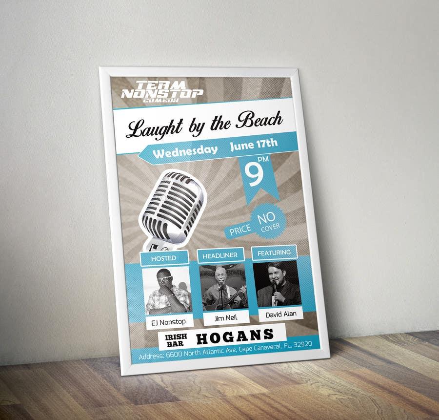 Inscrição nº 3 do Concurso para Design a Poster for A Comedy Night Event