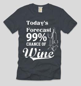Nro 17 kilpailuun Design a Wine based T-Shirt Tee käyttäjältä ezaz09