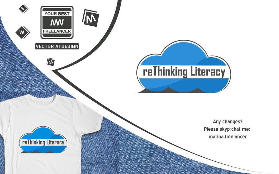 Penyertaan Peraduan #21 untuk Design a Logo for reThinking Literacy Conference