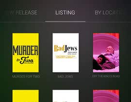 #32 untuk Design an App Mockup for Theatre Search oleh JDLA