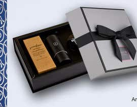 #17 untuk Gift box design for men's grooming product set. oleh anymix