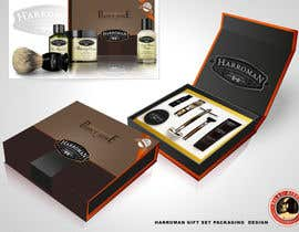 #3 untuk Gift box design for men's grooming product set. oleh KilaiRivera