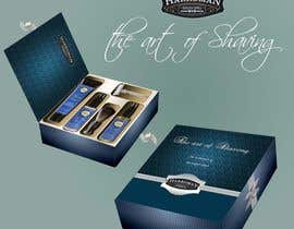 #10 untuk Gift box design for men's grooming product set. oleh starfz