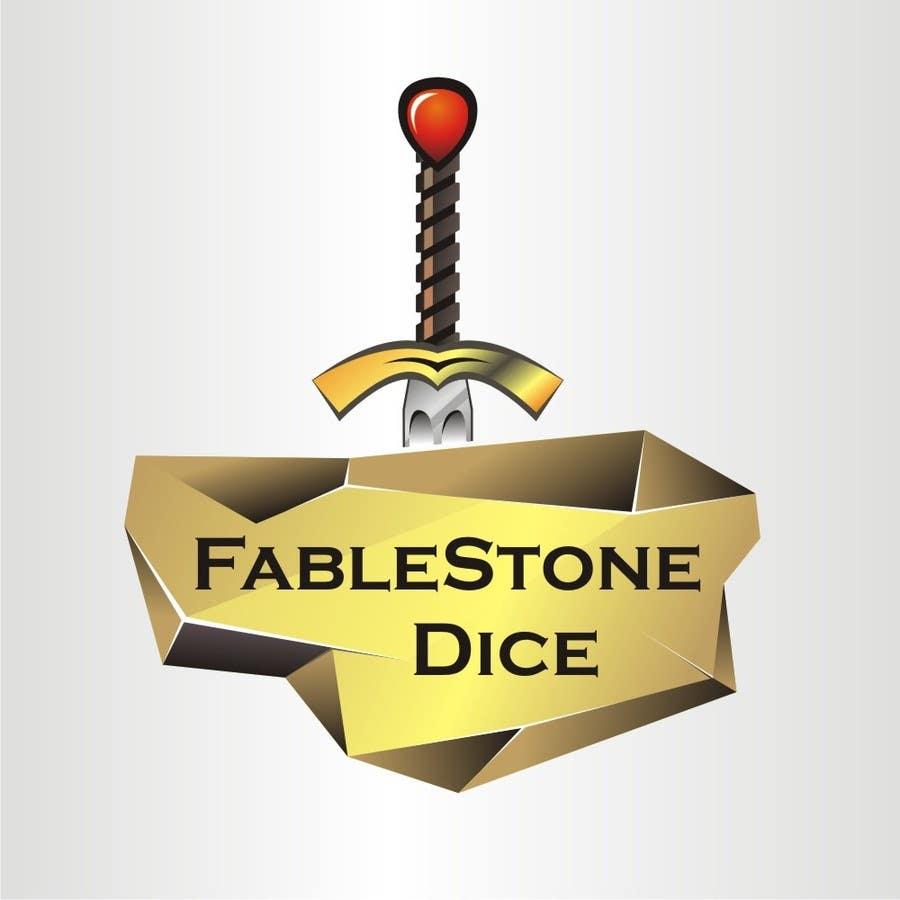 Penyertaan Peraduan #11 untuk Design a Logo for Fablestone Dice - Fantasy roleplaying theme