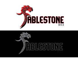 #14 untuk Design a Logo for Fablestone Dice - Fantasy roleplaying theme oleh twistedfrog