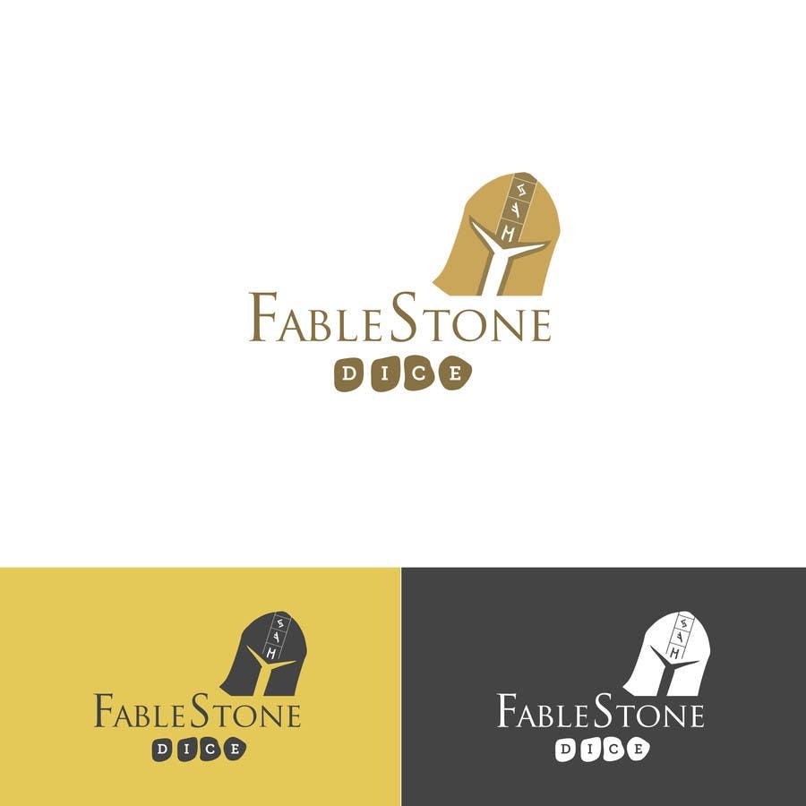 Penyertaan Peraduan #10 untuk Design a Logo for Fablestone Dice - Fantasy roleplaying theme