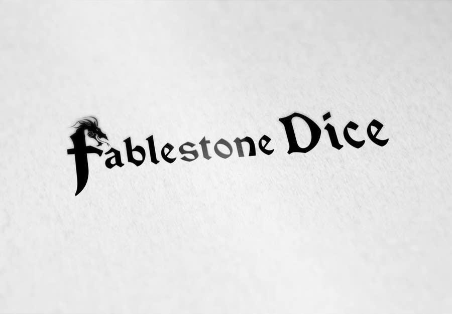 Penyertaan Peraduan #22 untuk Design a Logo for Fablestone Dice - Fantasy roleplaying theme