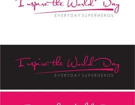 #34 untuk Design a Logo for Inspire the World Day - Everyday Superheros oleh paijoesuper