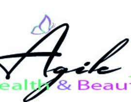 "heberomay tarafından Design a small logo with text ""Agile Health and Beauty"" - 120x30 px için no 51"