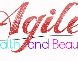 """#43 untuk Design a small logo with text """"Agile Health and Beauty"""" - 120x30 px oleh arsh8singhs"""