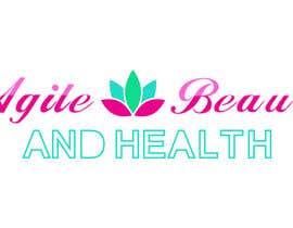 """simpledesign11 tarafından Design a small logo with text """"Agile Health and Beauty"""" - 120x30 px için no 33"""