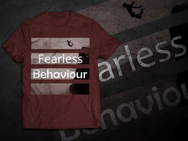 #37 untuk Design a T-Shirt for Fearlessonexxx oleh akazuk