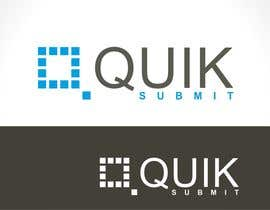 #180 para Design a Logo for Quik Submit por creazinedesign