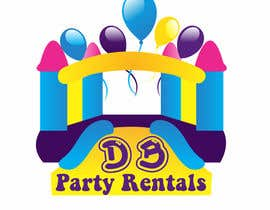 #15 for Design a Logo for DB Party Rentals by stojicicsrdjan