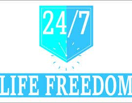 "#56 para Design a Logo for ""24/7 Life Freedom"" por Monucamboz"