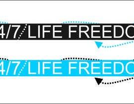 """Nro 58 kilpailuun Design a Logo for """"24/7 Life Freedom"""" käyttäjältä Monucamboz"""