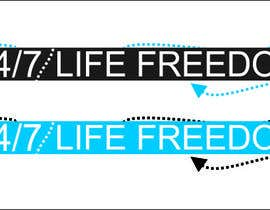 "#58 for Design a Logo for ""24/7 Life Freedom"" af Monucamboz"