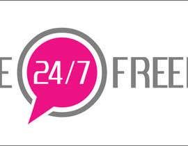 """Nro 61 kilpailuun Design a Logo for """"24/7 Life Freedom"""" käyttäjältä askid"""