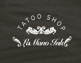 Nro 8 kilpailuun Design a Logo for LaMano Ink Tattoo Shop käyttäjältä Tayyaba3