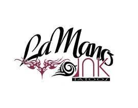 Nro 13 kilpailuun Design a Logo for LaMano Ink Tattoo Shop käyttäjältä ginjin