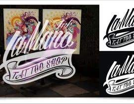 #24 for Design a Logo for LaMano Ink Tattoo Shop af indraDhe