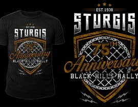 #1 for Design a T-Shirt for STURGIS 2015 75th Anniversary af stevesartorio13