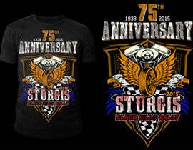 #45 cho Design a T-Shirt for STURGIS 2015 75th Anniversary bởi stevesartorio13