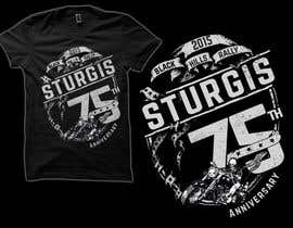 #15 for Design a T-Shirt for STURGIS 2015 75th Anniversary af simrks