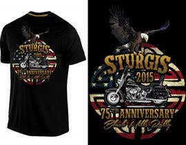 #51 for Design a T-Shirt for STURGIS 2015 75th Anniversary af WendyRV