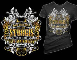 #19 for Design a (((LADIES))) T-Shirt for STURGIS 2015 75th Anniversary af simrks