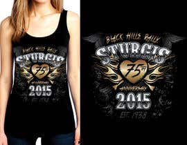 #52 for Design a (((LADIES))) T-Shirt for STURGIS 2015 75th Anniversary af WendyRV