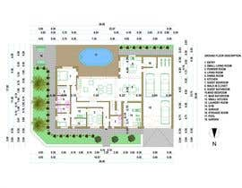 #46 for Floorplan for modern contemporary house af markoculibrk