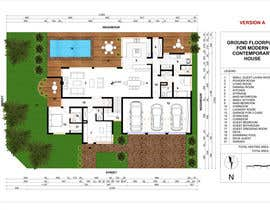 #54 for Floorplan for modern contemporary house by cveki
