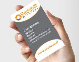 #32 para Business Card for Redshift Wireless por FlyersFan