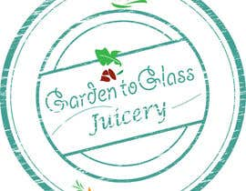 bridgetlinker tarafından Design a Logo for Garden To Glass Juicery için no 60