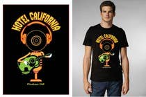 Graphic Design Entri Kontes #88 untuk Vintage T-shirt Design for HOTEL CALIFORNIA