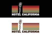 Graphic Design Entri Kontes #72 untuk Vintage T-shirt Design for HOTEL CALIFORNIA