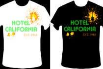 Graphic Design Kilpailutyö #77 kilpailuun Vintage T-shirt Design for HOTEL CALIFORNIA