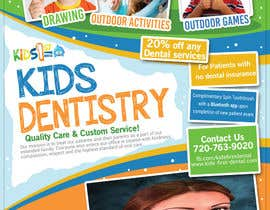 #31 for Design a Flyer for Kids Dentistry by amprodzz