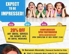 #5 for Design a Flyer for Kids Dentistry af arsh8singhs