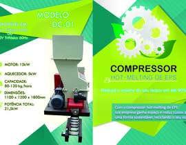 Nro 2 kilpailuun Projetar um Folder simples de uma máquina de reciclagem käyttäjältä gabrielvcp